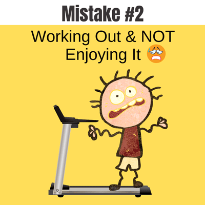 Weight Loss Exercise - Mistake #2