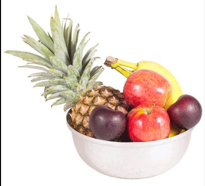 nutritional facts in eggs versus fruit