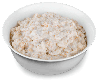nutritional value of egg versus oatmeal