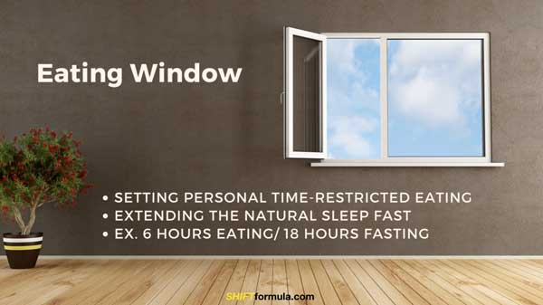 Intermittent Fasting Eating Window