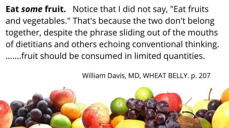 Dr. William Davis, Wheat Belly