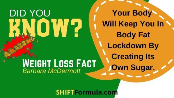 body fat lockdown