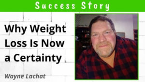 Carb and sugar cravings gone - Wayne Lachat