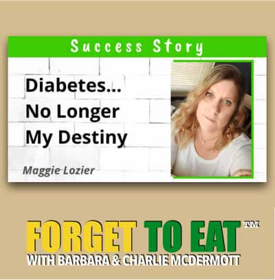 Forget To Eat PODCAST - Diabetes Prevention Type 2