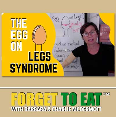 Forget To Eat Podcast - Egg On Legs Story