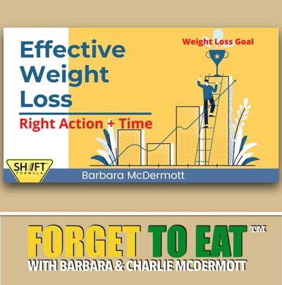 Effective Weight Loss | Forget To Eat Podcast with Barbara McDermott